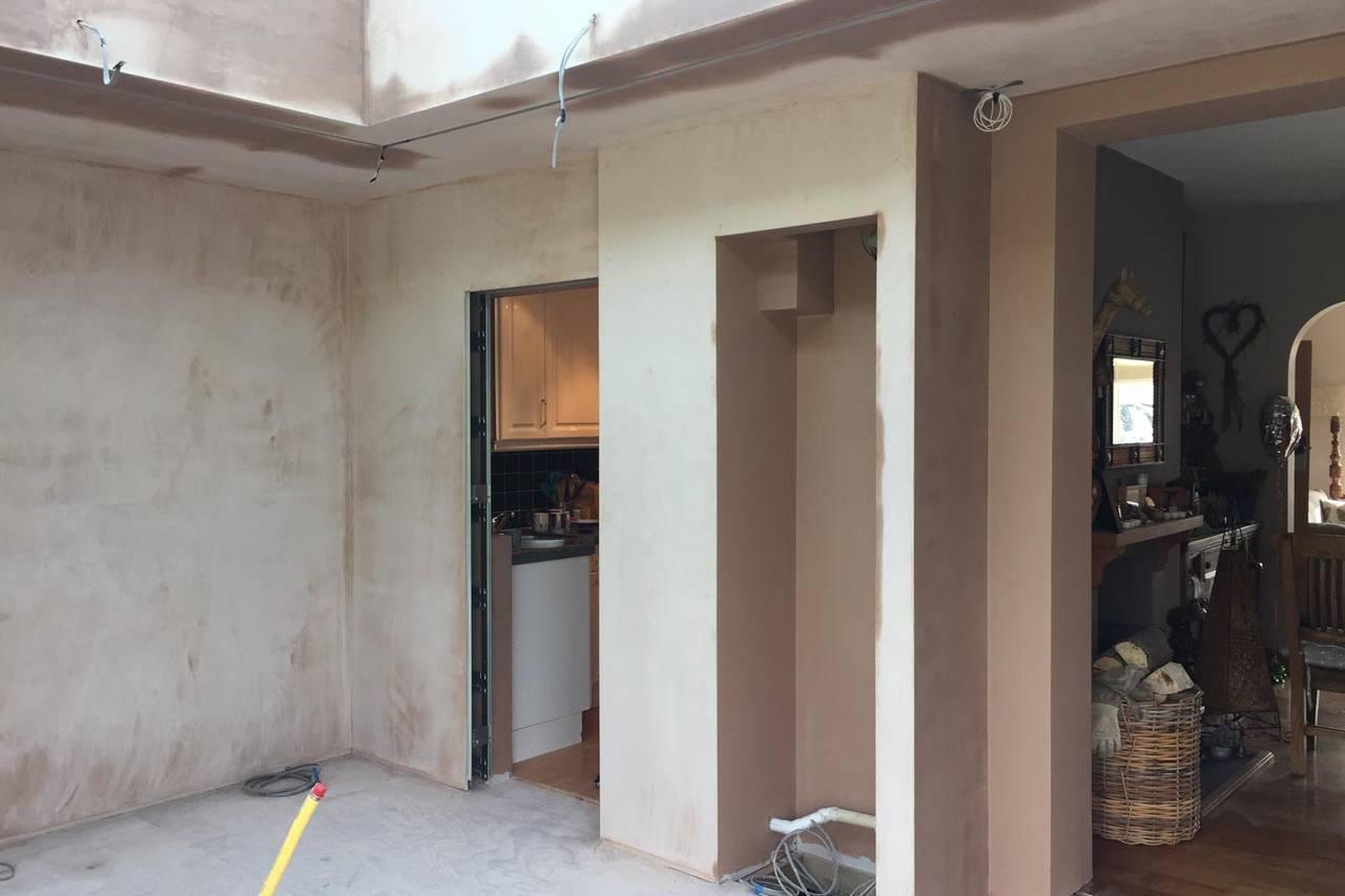 Kitchen Plastering Complete